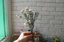 JIALE3536 Künstliche Blumen Zu Hause Waren.Zubehör.Simulation Künstlicher Blumen.Blumen.Wohnzimmer Ausgestattet.Einrichtung.Künstliche Blumen - Vase.,Pink