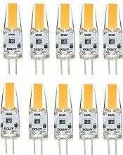 JIALUN-Glühbirne 10x G4 LED Birne 3W 12V G4