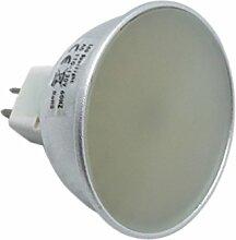 JIALUN- LED 3014SMD 400-500Lm Dimmable 5W MR16 128LED Warmweiß Kaltweiß Natural White Dekorative LED-Strahler ( Color : Warm White Cold White Natural White )