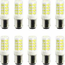 JIALUN- LED 52LED 2835SMD 400-500 Lm BA15D 5W