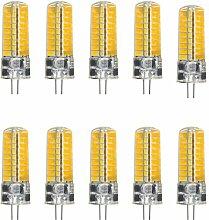 JIALUN- LED 72LED 5730 SMD 400-500 Lm G4 5W kühle