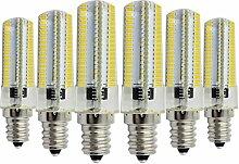 JIALUN- LED Dimmbare E14 7W 152LED Warm White Cool