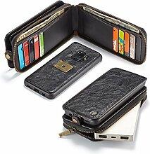 JIALUN- LED Für Samsung Galaxy S9 Leder Wallet