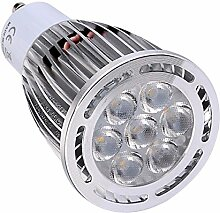 JIALUN- LED GU10 7W SMD 3030 600-700 LM Warmweiß / Cool White Frosted LED-Strahler ( Color : Warm White , Size : AC 110-130V )