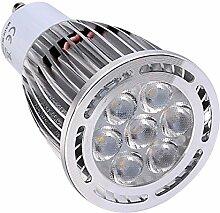 JIALUN- LED GU10 7W SMD 3030 600-700 LM Warmweiß