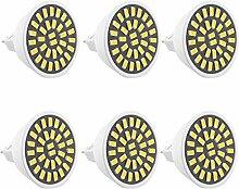 JIALUN- LED LED-Strahler MR16 5W 400-500LM 32LED 5730SMD Dekoratives warmes Weiß kühles Weiß ( Color : Warm White )