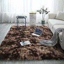 Jian E Teppich weicher flauschiger Teppich Shaggy