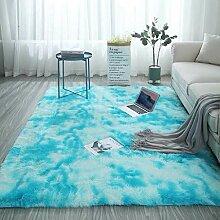 Jian E Teppich, weicher flauschiger Teppich,
