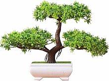 Jianbo123 Künstliche pflanzen,Japanischer Pinien