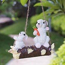 JIANG Dekoration Outdoor Garten Hof Ornamente Tier