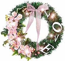 Jiang Hui Pink Love Buchstaben-Dekoration Girlande