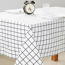 JIANGJUN Geometrische Tischdecke Tischdecke