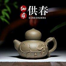 JIANGNANCHUN berühmte Teekanne Erz authentisch