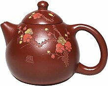 JIANGNANCHUN Dingshan Store Teekanne mit rotem