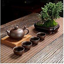 JIANGNANCHUN Erz-Teekanne für vier Tassen