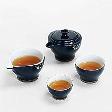 JIANGNANCHUN Reise-Tee-Set Teetasse mit einem