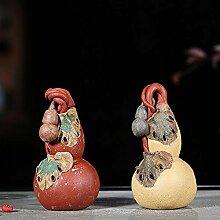 JIANGNANCHUN Tee-Haustier-Skulptur, Teetablett,