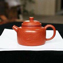 JIANGNANCHUN Zhuni handgefertigte Teekanne