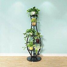 JIANGU Blumen-Regal für Wohnzimmer, Wohnzimmer,