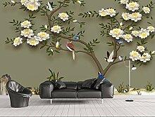 Jiangwei 3D Tapete Benutzerdefinierte Tapete Blume