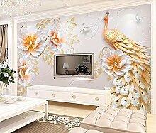 Jiangwei 3D Tapete Gewohnheit Prägte Moderne