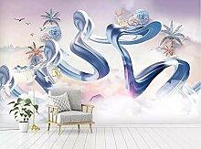 Jiangwei Tapete 3d Benutzerdefinierte Wand Tinte