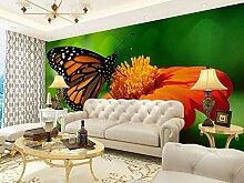 Jiangwei Tapete 3d Blumenschmetterlingsabziehbild