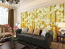 Jiangwei Tapete 3d Malereibäume für Wände