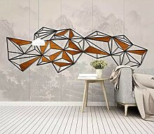Jiangwei Tapete 3d Nordisches abstraktes