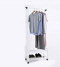 JIAO PAI Tragbare Kleiderbügel, Metallmontage