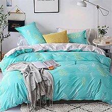 Jiaosa Bettbezug - 2 Kissenbezüge,Weiches und