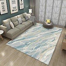 Jiaosa Teppich Babyzimmer blau Teppich blau frisch