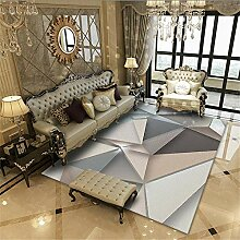 Jiaosa Teppich Reinigung grau Teppich Salon grau