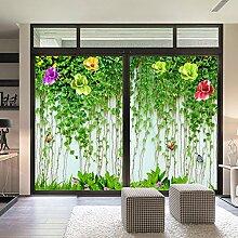 JiaQi 3D Fensterfolien,Statische Fensterfolie
