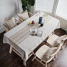 JiaQi Moderne Einfache Tischdecken,Bettwäsche aus