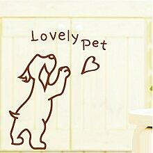 JiaQi Pet Shop Fensterfolien,Selbstklebend