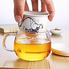 JiaQi Porzellan Tee Tasse Set Keramik Reise