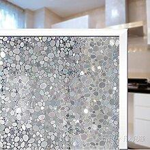 JiaQi Statische Fensterfolie,Mosaik