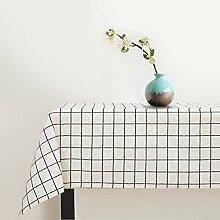 JiaQi Wasserdicht Lattice Tischdecken,Nordische