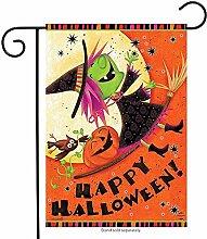 jiaxingdalin Fliegende Hexe Halloween Garten