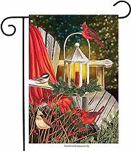 jiaxingdalin Kardinal Laterne Weihnachten Garten