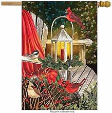 jiaxingdalin Kardinal Laterne Weihnachten Haus
