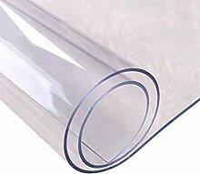 JIAYAN wasserdichte PVC-Tischdecke Transparente