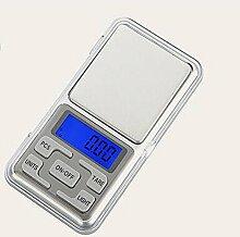 JIAYOU Küchenwaage Mini Elektronische Digitale