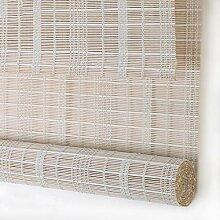 JIAYUAN Rollos Natürlicher Bambus Roll Up