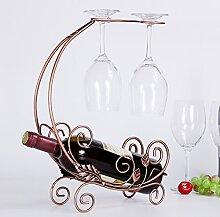 JIEJIEDE Kreative Wein Stand,Weinflasche Halter