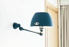 Jieldé Aicler Ozeanblaue Wandlampe