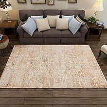 JIFAN Abstrakter Retro-Teppich, Weicher Teppich