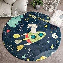 JIFAN Baby Krabbeldecke, Kinderzimmer Cartoon