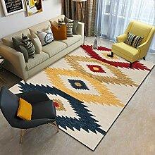 JIFAN Nordic Retro Carpet Kristall Samt Weichen
